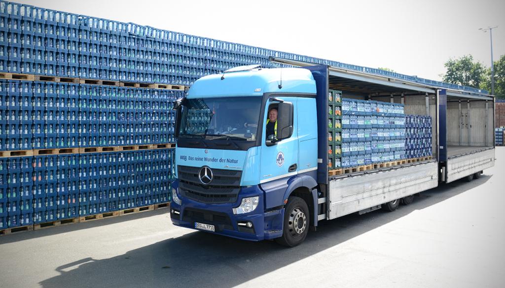 FMCG_Getraenkelogistik_Dedicated truck